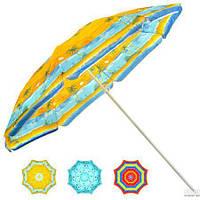 Зонт пляжный d1,8м наклон (0036)
