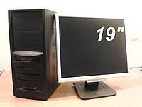 """Монитор 19""""ЖК+ Комп. Intel (2 Ядра-2Гб)"""