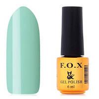 Гель-лак F.O.X  6 мл pigment №032 (жасминово-зелёный)