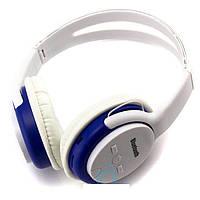 Bluetooth наушники с микрофоном MP3 BAT-5800E белые