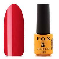 Гель-лак F.O.X  6 мл pigment №043 (классический красный), фото 1