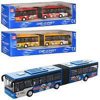 Игрушка автобус инерционный 632-30