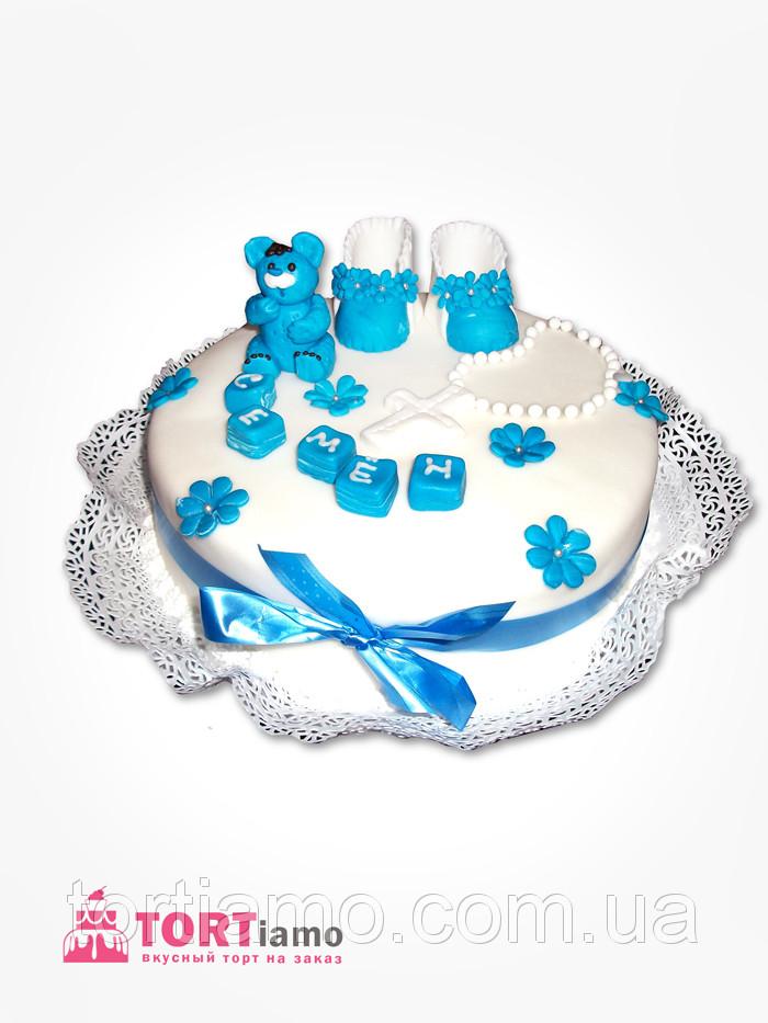 """Детский торт на заказ """"Торт на крестины"""""""
