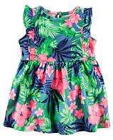 Летнее платье для девочки Цветочек