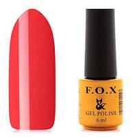 Гель-лак F.O.X  6 мл pigment №049 (красно-морковный), фото 1