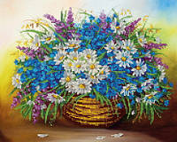 """Схема для вышивки бисером """"Полевые цветы"""""""