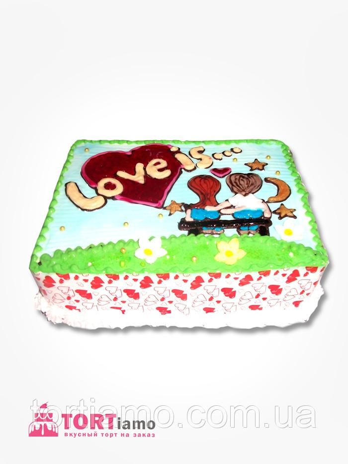 Торт на заказ Love is