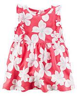 Летнее платье для девочки Цветущее