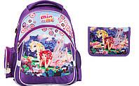 MM17-521S Набор школьный Kite(Рюкзак+сумка+пенал) Mia and Me
