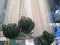 """Рыболовная одностенная сеть ячейка 25, размеры 100*3 м. Сеть """"китайка"""" яч 25, для промышленного лова, 100*3 м."""