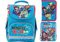 Набор школьный Kite(Рюкзак+сумка+пенал) Monster High MH17-501S