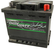 Акумулятор GigaWatt 60 А Гигават 60 Ампер GW 0185756009
