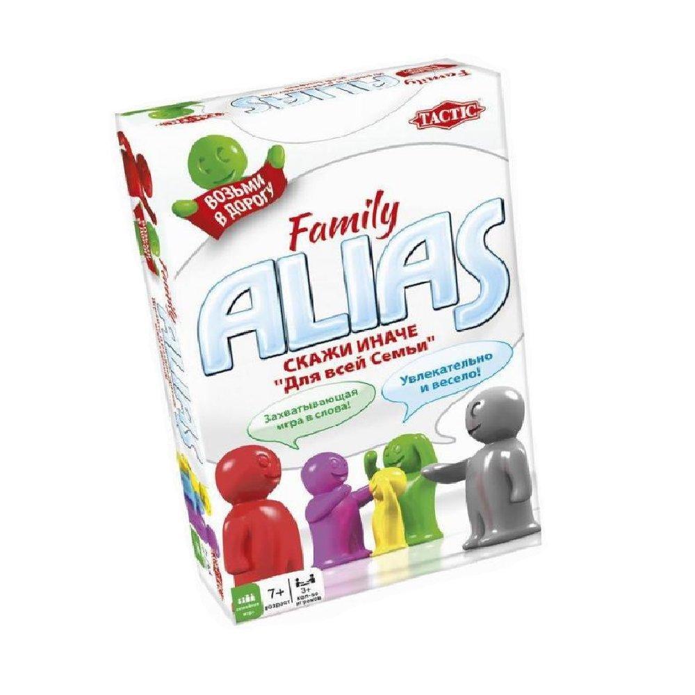 Настольная игра Tactic Alias Family Компактная версия (53374)