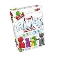 Настольная игра Tactic Alias Family Компактная версия (53374), фото 1