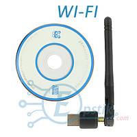 USB WIFI 150M 802.11n, мини Wifi адаптер с антенной