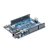 Arduino UNO R3 MEGA328P CH340G, micro USB, фото 1