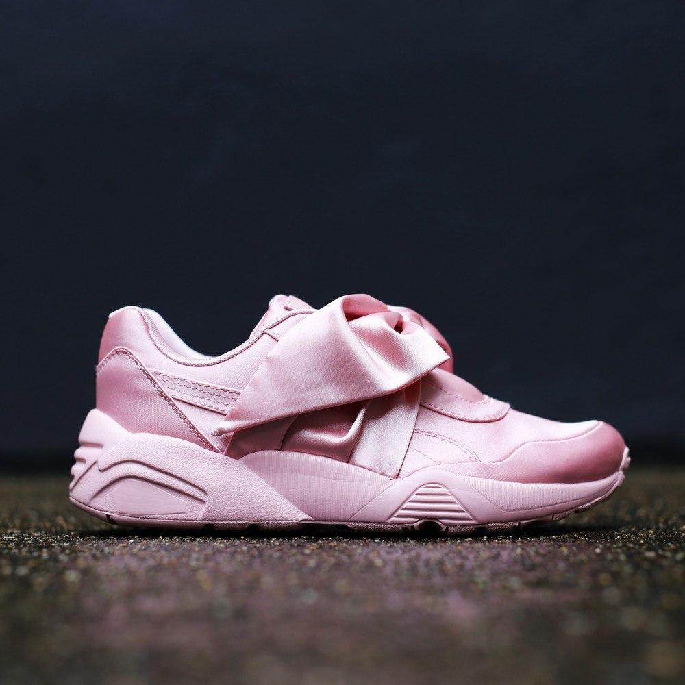 Кроссовки женские Fenty By Rihanna Bow Sneaker Pink 30444 розовые