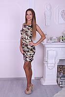 "Платье-майка женское из трикотажа Турция ""Street wear"""