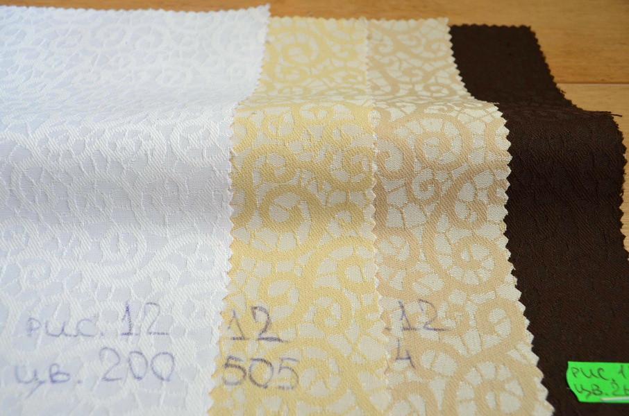 Teflon Малюнок-12 (Рис.12) Кольорова Скатертная тканина з просоченням МВО