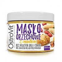 OstroVit арахисовое масло с медом Maslo Orzechowe (500 g z miodem)
