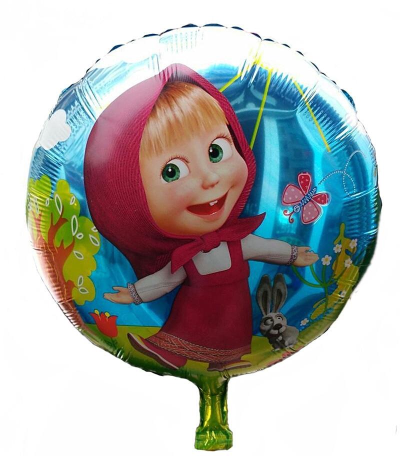 Воздушный шарик маша 45 см.
