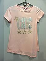 Модная футболка для девочки подростка 146 см, фото 1