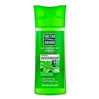 Шампунь Чистая Линия Крапива укрепляющий на отваре целебных трав для всех типов волос 400мл