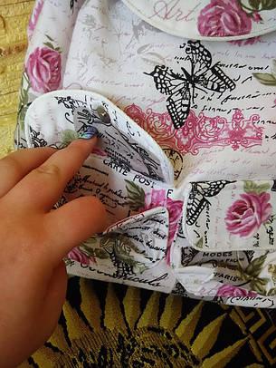 """Рюкзак женский """"Розовые бабочки"""", фото 2"""