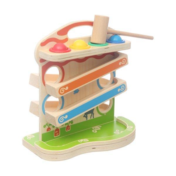 Деревянная игрушка Стучалка с шариками большая МДИ (Д102)