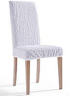 Чехлы на стулья  белые (набор 6 шт.)