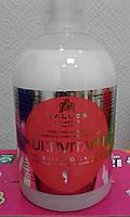 Шампунь для волос Multivitamin  мультивитамин Shampoo Kallos (Калос) 1000 мл