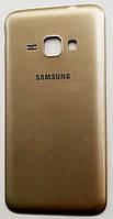 Задняя крышка батареи для мобильного телефона Samsung J120H Galaxy J1 (2016), золотистая