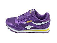 Подростковые кроссовки лето текстиль Supo Light Energy Sport 1608 Purple