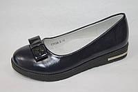 Модные подростковые туфли оптом. Туфли для девочек от фирмы Lilin-Shoes 7753A-2 (8 пар, 32-37)