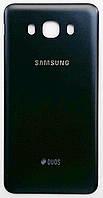 Задняя крышка батареи для мобильных телефонов Samsung J710F Galaxy J7 (2016), черная