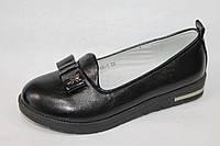 Модные подростковые туфли оптом. Туфли для девочек от фирмы Lilin-Shoes 7751A-1 (8 пар, 32-37)