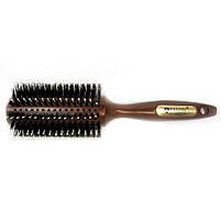 Щетка-брашинг деревянный продувной с комбинированной щетиной  Salon Professional 4776CLB
