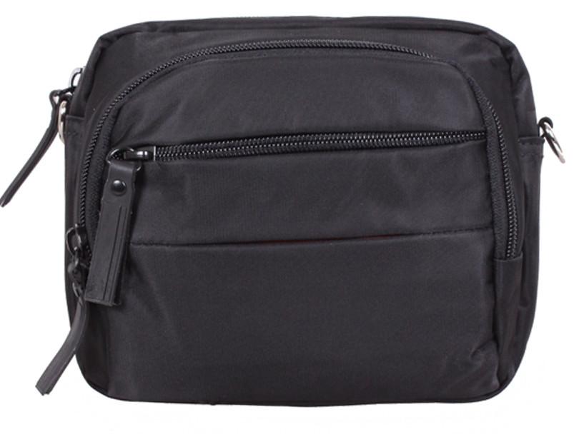 Компактная мужская сумка через плечо SP6338-11BL черный