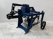 Картофелекопалка к мотоблоку – навесное оборудование, которое используется для картофелекопалка выкапывания корнеплодов и клубней из почвы.