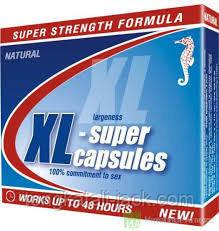 XL-супер капсулы № 1 для мужской потенции