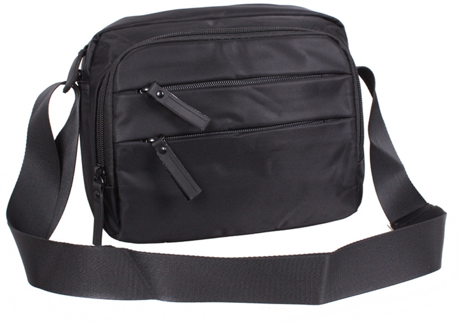 Функциональная мужская сумка MP6338-22BL черный