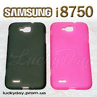 Бампер чехол для Samsung Ativ S i8750 gt899m + защитная пленка