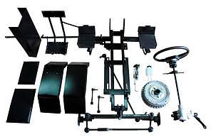 Комплект по переоборудованию мотоблока КИТ набор №4(задний и передний подьем-й мех.+к-т фрезы, мех.тормоз 5 б), фото 2