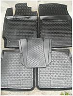 Коврики в салон Toyota Camry 2006-2011 (5 шт) каучук ТЭП