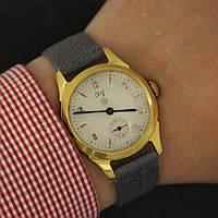 Свет винтажные наручные механические часы СССР, фото 1