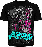 Футболка Asking Alexandria Skelet