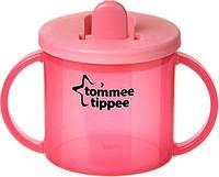 Первая чашка с носиком, красная, 190 мл., Tommee Tippee