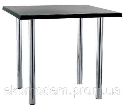 Стол АЛЕКС на 4 металлических опорах (ногах) для кафе, бара, ресторана