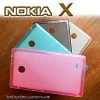 Бампер чехол для Nokia X / X+