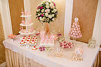 Свадебный Кенди бар в  розовом  цвете (под ключ) на 50 чел, фото 1